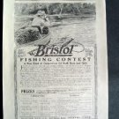 1916 Bristol Fishing Rods St Nicholas Advertisment