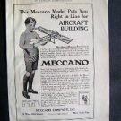 1914 Meccano Model Aircraft St Nicholas Advertisement