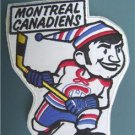 "Montreal Canadiens Caricature Hockey Patch 7"" NM"
