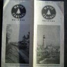 Apr 26 1953 MAINE CENTRAL Railroad Timetable