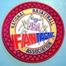 "National Basketball Association NBA Fantastic 6"" Patch"