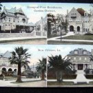 New Orleans Louisiana Fine Residences Garden District