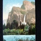 Antique Postcard Bridal Veil Fall Merced River Yosemite