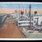 New Orleans Louisiana Harbor View Seaport Postcard