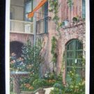 New Orleans Louisiana Little Theater Courtyard Postcard