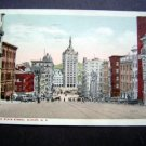 Looking Down State Street Albany New York Postcard
