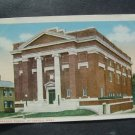 Masonic Temple   Pittsfield  Mass  Postcard