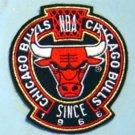"Chicago Bulls NBA Basketball Logo Jacket Patch 4"""