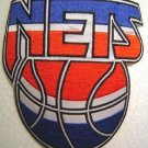 NY New York Nets NBA Basketball Logo Patch 6""