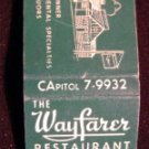 Wayfarer Restaurant Westport Ct  Matchbook / Matchcover