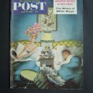 POST MAG Apr 13 1957 Wizard of Oz - Woes of Willie Mays