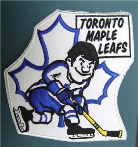 Toronto Maple Leafs Hockey Caricature Patch 7""