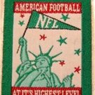 """NFL American Football at it's Highest Level Cloth Patch 1 3/4"""" x 2 1/4"""""""