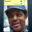 1977-1979 Sportscaster Card Baseball Willie Mays NY Mets 11-06