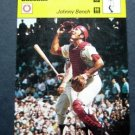 1977-1979 Sportscaster Card Baseball Johnny Bench Cincinnati Reds 06-22