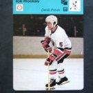 1977-1979 Sportscaster Card Ice Hockey Denis Potvin NY Islanders 17-09