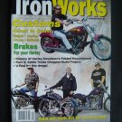 Iron Works Magazine Dec 2001 Harley Motorcycle