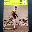 1977-1979 Sportscaster Card Baseball Monty Stratton Chicago White Sox 77-08