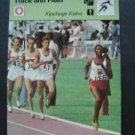 1977-1979 Sportscaster Card Track and Field Kipchoge Keino 10-19