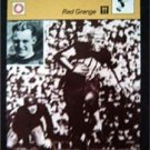 1977-1979 Sportscaster Card Football Red Grange Chicago Bears 06-13