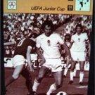 1977-1979 Sportscaster Card Soccer UEFA Junior Cup 17-12