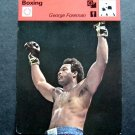 1977-1979 Sportscaster Card Boxing George Foreman 14-03