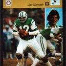 1977-1979 Sportscaster Card Football Joe Namath NY Jets 03-20