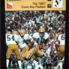1977-1979 Sportscaster Card Football 1967 Green Bay Packers 07-15