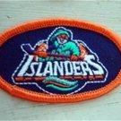 """NY Islanders Hockey 2 3/4"""" Oval Cloth Patch"""