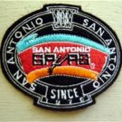 San Antonio Spurs Basketball NBA Cloth Oval Patch 3 1/4""