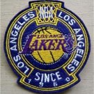 Los Angeles Lakers Basketball Cloth Crest Shield Patch 3 1/2""
