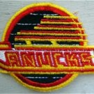 """Vancouver Canucks NHL Hockey Patch 3"""" Die Cut"""