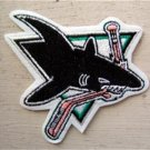 "San Jose Sharks NHL Hockey Patch 3 1/2"" Die Cut"