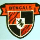 "Cincinnati Bengals NFL Football 3"" Cloth Crest Shield Patch"