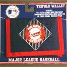 Atlanta Braves Baseball Trifold Wallet Mint on Card