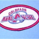 "Colorado Avalanche Hockey Cloth Jacket 2 3/4"" patch"