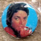 "Michael Jackson Close Up Pin Button 2 1/4"" Diameter"