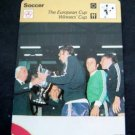 1977-1979 Sportscaster Card Soccer The European Cup Winners Cup 15-01