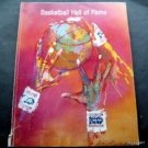1991 Basketball Hall of Fame Souvenir Year Book Leroy Neiman Cover