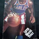 Harlem Globetrotters Basketball Program 1978 World Tour