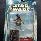Star Wars Watto Mos Espa Junk Dealer Figure Attack of Clones Hasbro 2002 #50