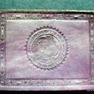 Vintage  Massachusettensis Sigillum Republic 1910s Leather Mass Seal Patch