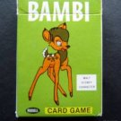 Walt Disney Bambi Card Game 1965 Russell Mfg 40 Cards