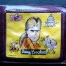 1950's Davy Crockett Childrens Toy Brown Plastic Wallet Billfold