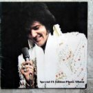 "Vintage Elvis TV Special Edition Photo Album 11"" Square Color Pictures"