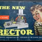 The New Erector Set Building Toy Booklet c 1951 A C Gilbert Co