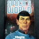 Star Trek Spock's World Paperback Book by Diane Duane 1989 Pocket Books
