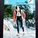 1977-1979 Sportscaster Card Nordic Skiing William Koch 04-07