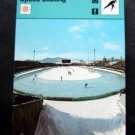 1977-1979 Sportscaster Card Speed Skating Fear of Falling 12-10