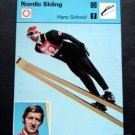1977-1979 Sportscaster Card Nordic Skiing Hans Schmid 17-11